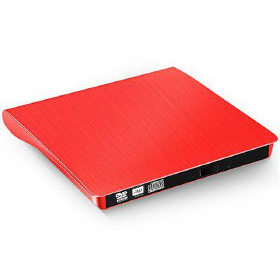 USB 2.0 External CD DVD RW Drive Optical DVD-RW Burner Writer Recorder