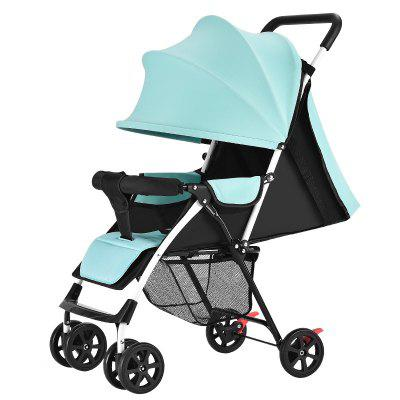 Baby Stroller Light Winter and Summer Dual-use Foldable Shock-absorbing