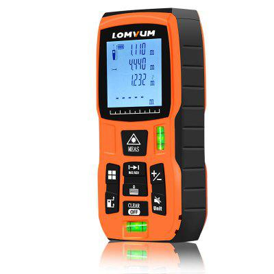 Handheld Laser Distance Meter Level Bubbles Laser Rangefinder Medidor Laser Measure Device