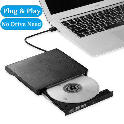 External DVD Drive USB 3.0 Portable CD DVD RW Drive Writer Burner Optical Player Compatible
