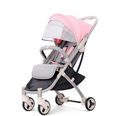 Baby Stroller Plane Lightweight Portable Travelling Children Pushchair Baby Carriage 2 in 1 Trolley
