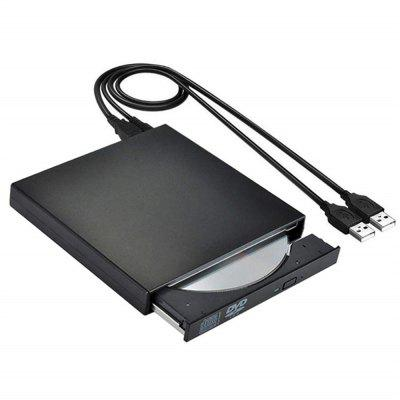 External DVD Drive Optical Drive USB 2.0 CD ROM Player CD-RW Burner Writer Reader Recorder Portatil