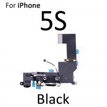 High Quality Charging Flex Cable For iPhone 5S 7 USB Charger Port Dock Connector With Mic Flex Cable