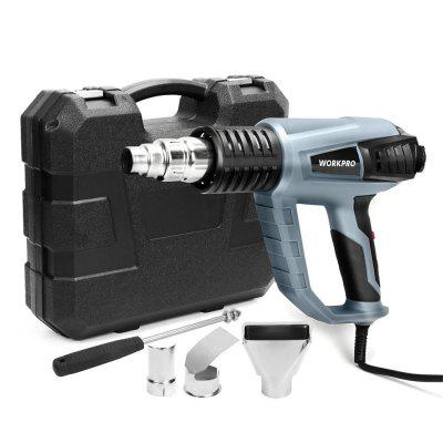 220V 2000W Heat Shrink Gun Industrial Electric Hot Air Blower with 3 Adjustable Temperature Control
