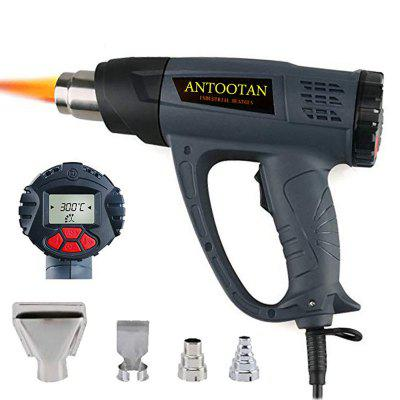 Industrial Heat Shrink Gun with LCD Display Wind Control Memory Function Adjustable Temperature