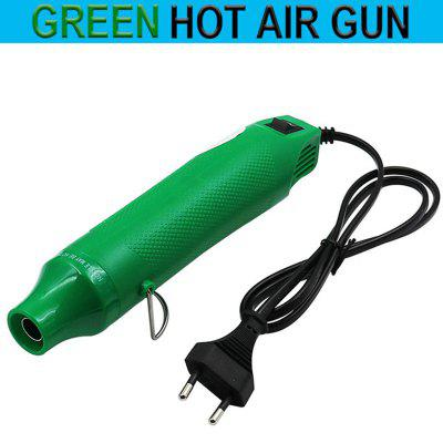 Portable Embossing Heat Gun Small Electrical Shrink Wrap Air Blower DIY Hot Air Tool with Stand