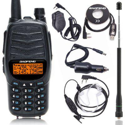 UV-X9 Plus Dual PTT Walkie Talkie 10KM Long Range Dual Band 10W Business 2 Way Radio