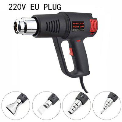 1500 Watt Embossing Heat Gun Portable Electric Hot Air Blower with Stepless Temperature Adjustable