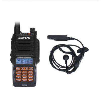Baofeng UV-9R Plus Rechargeable Walkie Talkie Waterproof 8W UHF VHF Professional 2 Way Radio