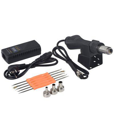 700W Micro Heat Gun with LCD Display Adjustable Temperature Soldering Rework Station Hot Air Blower