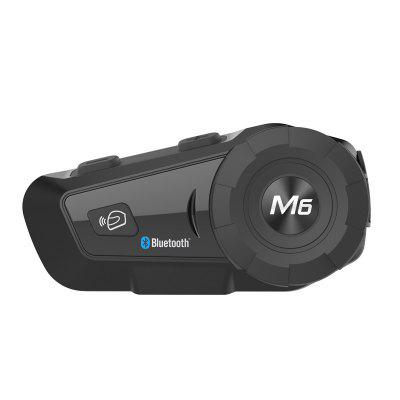 Motorcycle Bluetooth Walkie Talkie Headsets Helmet Wireless MP3 GPS Tracking FM Radio