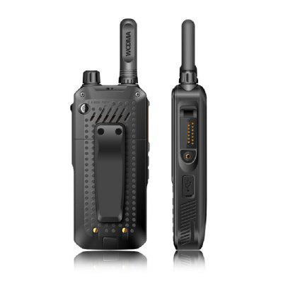 Rechargeable Walkie Talkies Long Range 200 Miles Global Call Sim Card Intercom WCDMA Public Network