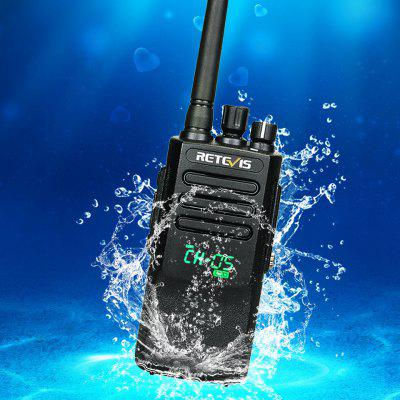 Digital IP67 Waterproof Walkie Talkie UHF Rechargeable 2 Way Radio Best for Cruise Outdoor Hiking