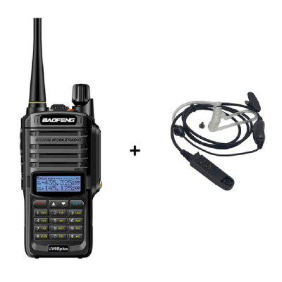Baofeng UV-9R Plus 10W Waterproof Walkie Talkie Dual Band VHF UHF Ham Radio 2 Way Radio