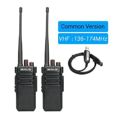 RT29 Professional Walkie Talkie Waterproof IP67 VHF Long Range Two Way Radio Outdoor Talkier