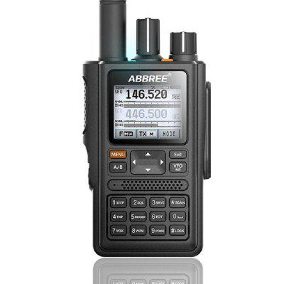 AR-F8 GPS Walkie Talkie Professional Satellite Two Way Radio with SOS Function Rechargeable Battery