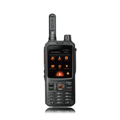 4G LTE Walkie Talkie 2 Way Radio Long Range 100km Handheld Portable Radios Business Indoor Use