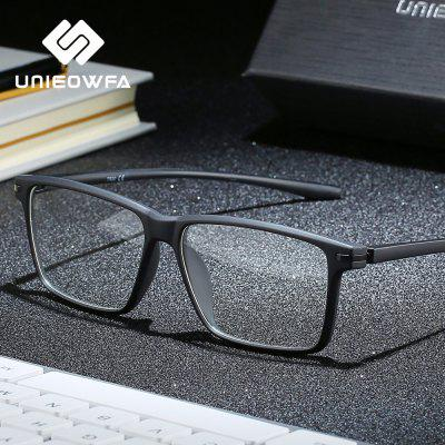 TR90 Computer Screen Glasses Frame Men Optical Myopia Eyeglasses Anti Blue Light Blocking Glasses