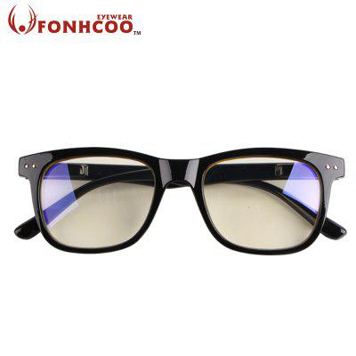 Fashion Mens Blue Blocker Glasses Blue Light Blocking Glasses Square Computer Gaming Goggles