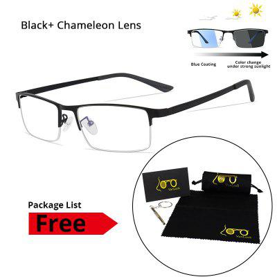 Photochromic Blue Blockers Sunglasses Mens Blue Light Blocking Glasses Computer Screen Eyeglasses