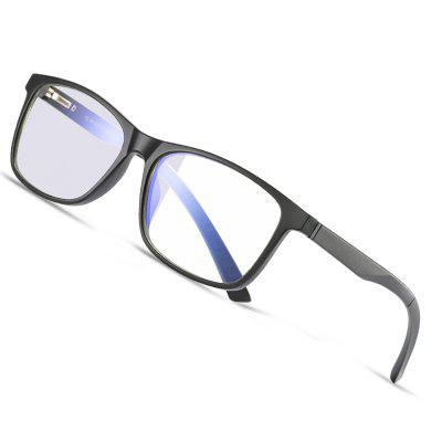 Blue Light Blocking Glasses  Square TR90 Optics Frame Fashion Computer Gaming Eyewear with Blue Lens