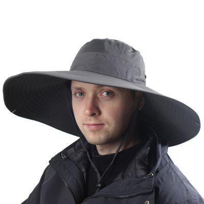 Super Long Wide Brim Bucket Hat Breathable Quick Dry Boonie Hat Summer UV Protection Cap