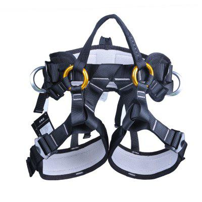 Top Rated Rock Climbing Harness Lightweight Half Body Ladies Mens Protective Saddle Waist Support