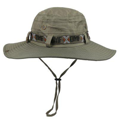 Wide Brim Waterproof Bucket Hat Summer Outdoor Hiking Fishing Cap UV Protection Panama Sun Hat