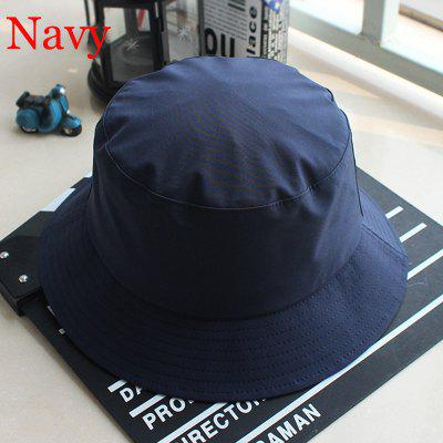 Casual Polyester Waterproof Windproof  Bucket Hats UV Protection Sun Cap Outdoor Fisherman  Hat