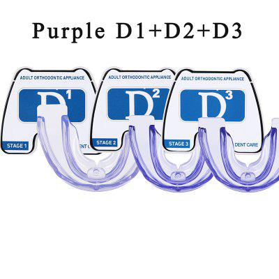 4D Silicone Orthodontic Braces Cosmetic Jaw Aligner Invisible Dental Tooth Alignment Treatment