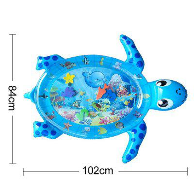 Baby Kids Water Play Mat Inflatable PVC Infant Tummy Time Playmat Fun Activity Play Center