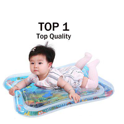 Baby Kids Water Play Mat Toys Inflatable thicken PVC Infant Tummy Time Playmat