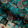Mens Silk Handkerchief Hanky Man Paisley Floral Jacquard Pocket Squares for Business Wedding Party