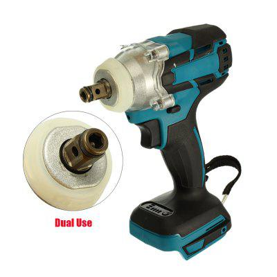 18V Impact Wrench Adjustable Rechargeable Brushless Cordless Electric Wrench Power Tool