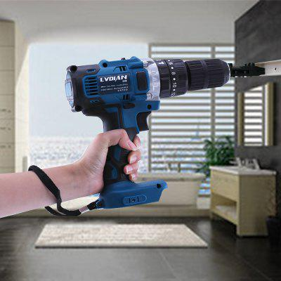 3 In 1 18V Electric Cordless Impact Drill 13mm 2 Speed Rechargable Electric Screwdriver Dril