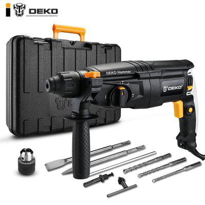 4 Functions AC Electric Rotary Hammer with BMC and Accessories Impact Drill Power Drill