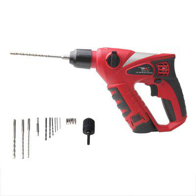 12V Cordless Electric Hammer Impact Drill  Multifunction Rotary Tool Home Power Tools Screwdriver