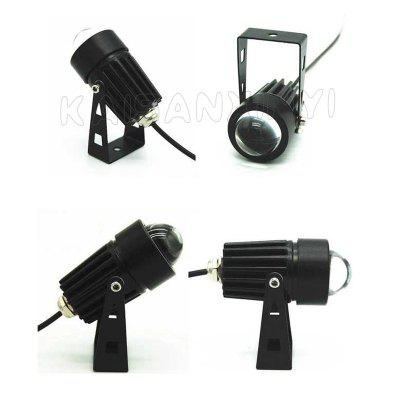 3W LED Lawn Floodlights Wall Washer Waterproof lights Narrow Beam Spot Lamp