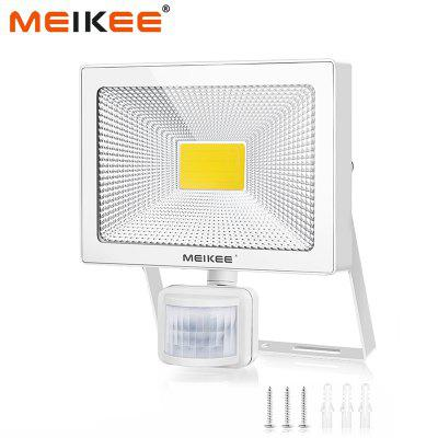 50W LED Flood Light with Motion Sensor Waterproof  PIR Floodlight Outdoor Projector Lamp Spotlight