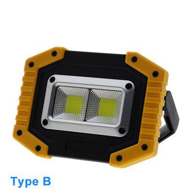 USB Charging LED Floodlight Work Light Rechargeable Spotlight  Outdoor Flood Lights