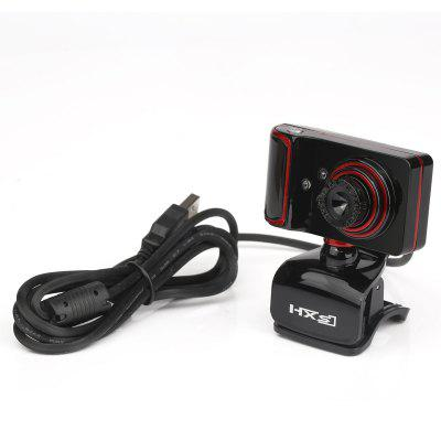 Web Camera USB High Definition Webcam Web Cam 360 Degree MIC Clip on for PC Laptop Notebook