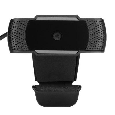 USB Webcam HD 480P PC Camera with Absorption Microphone MIC Rotatable Computer Camera