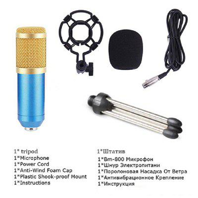 BM 800 Microphone Condenser Sound Recording Microphone for Braodcasting Singing KTV Karaoke Mic