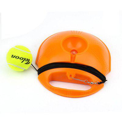 Tennis Training Tool Exercise Tennis Ball Self-study Rebound Ball With Tennis Trainer Baseboard