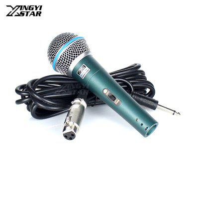 Professional Wired Handheld Dynamic Mic Vocals Best Karaoke Cardioid Microphone System