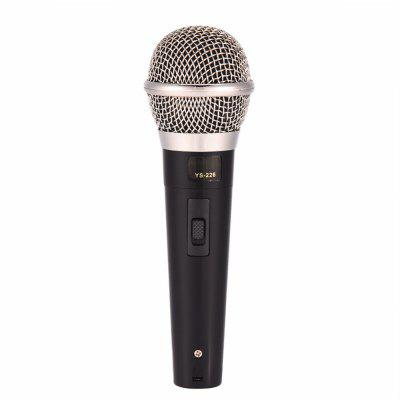 Handheld Professional Wired Dynamic Microphone Clear Voice Mic for Karaoke Vocals Music