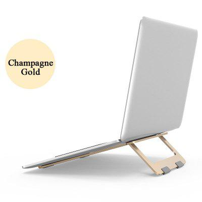 Foldable Laptop Stand  Aluminum Adjustable Desktop Tablet Holder Desk Table Mobile Phone Stand