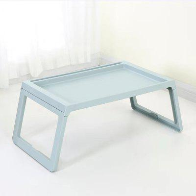 Folding Laptop Table Stand Portable Study Desk Plastic Computer Desk for Bed Sofa TrayTable