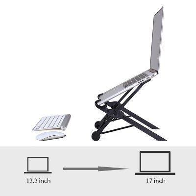 laptop stand folding portable adjustable laptop lapdesk office lapdesk.ergonomic notebook stand