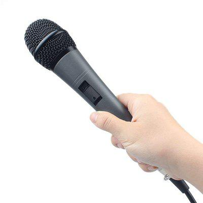Professional Dynamic Microphone Best Cardioid Vocal Wired MIC With XLR Cable Plug And Play